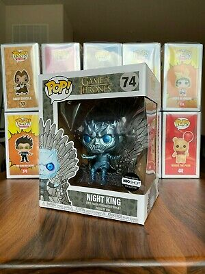 Funko Pop Metallic Night King On Throne HBO Shop Exclusive Game Of Thrones GOT