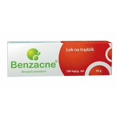 Benzacne Benzoyl Peroxide acne treatment 10% gel 30g uk stock fast delivery