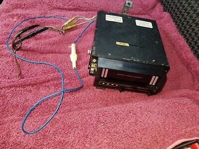 Clarion pe-430 8 Track Stereo Radio Player Discrete 2 Channel 4 Program as is