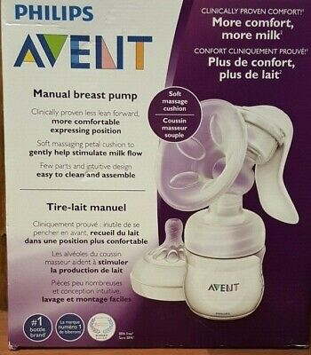 Philips Avent Breast Pump Manual - SCF330/30  Manual, Clear ( WU4-5)