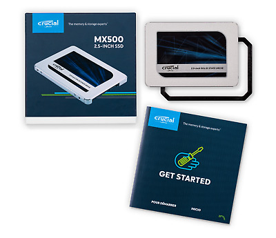 "Crucial MX500 500GB 2.5"" SATA Internal Solid State Drive SSD CT500MX500SSD1"