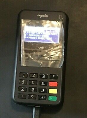 INGENICO ISMP4 PORTABLE Payment Terminal IMP627-11P3554A
