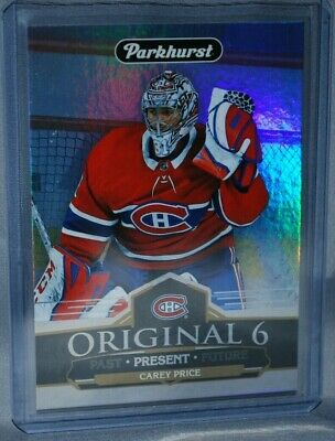 2018-19 Upper Deck Parkhurst Original 6 #O6-2 Carey Price Montreal Canadiens