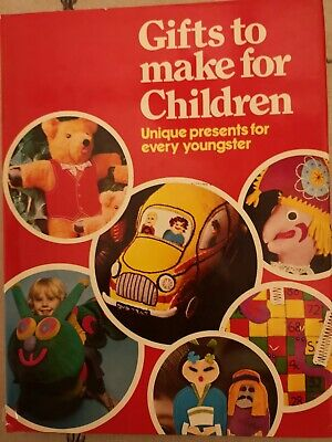 Gifts to Make for Children Craft Book Patterns Toys Wendy House Bears Sewing