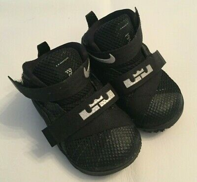 new arrival b6b44 17ce1 NIKE LEBRON SOLDIER 10 Toddler Boys 845123 001 Basketball ...