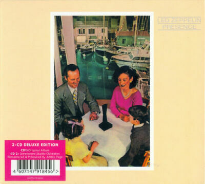 Led Zeppelin PRESENCE 2CD (Remastered) Deluxe Edition