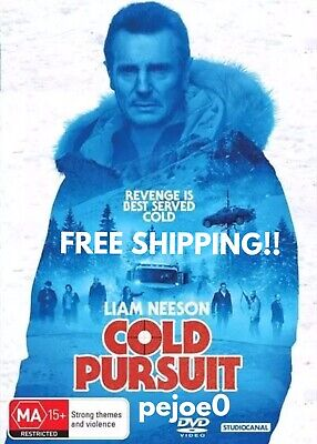 Cold Pursuit DVD Liam Neeson Reg 4 FREE POST! (2019) New!