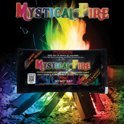 Mystical Fire Aussie Bonfire 40g Campfire Colourful Flames