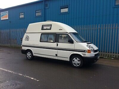 Vw Transporter 2.4 Diesel Lwb Hi Top 4 Berth Camper