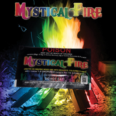 Mystical Fire 25g Campfire Colourful Flames pack
