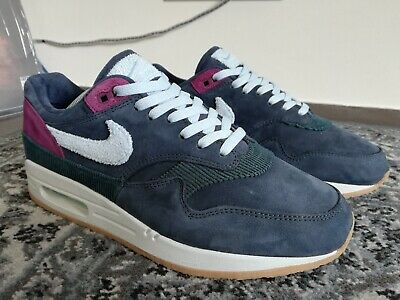 NIKE AIR MAX 1 Crepe Dark Obsidian — EUR44 US10 — CD7861 400