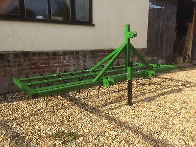 NEW 8' Spring Tine Grass Harrows/Weeder