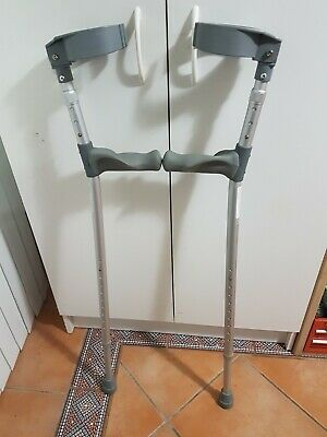 Forearm Elbow Crutches adjustable height Max weight 110kg