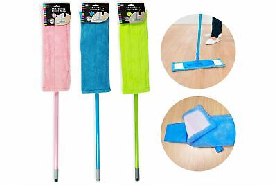 Extendable Microfibre Mop Cleaner Sweeper Wooden Laminate Tile Floors Brush Home