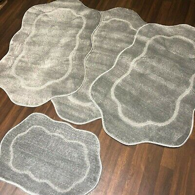 ROMANY WASHABLES TRAVELLERS MATS SET NON SLIP NEW CARVED DESIGN BEST SIZE PRICE