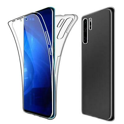 For Huawei P30 Lite Pro New Clear Front Back 2 in 1 Full Body Cover Phone Case