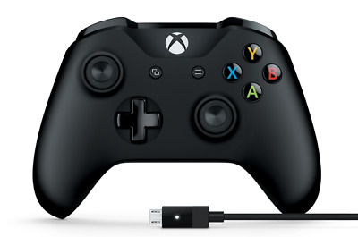 Microsoft Xbox One Wireless Controller + USB Cable for Windows PC 4N6-00003 NEW