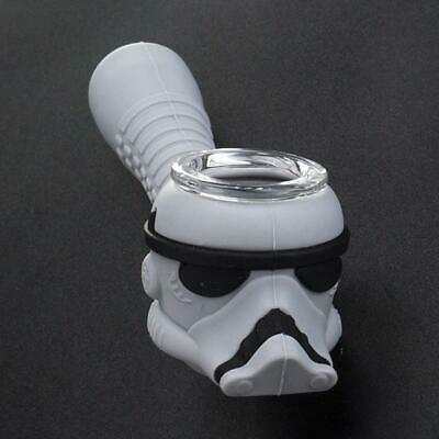 New Star Wars Storm Trooper Hookah Water Pipe Bong Portable Unbreakable Silicone