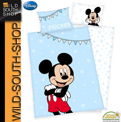 Disneys Minnie Mouse Bettwäsche Maus 40x60 100x135 100 Baumwolle