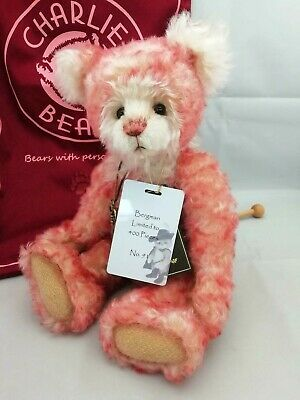 SPECIAL OFFER! Charlie Bears Isabelle Mohair BERGMAN Number 91/400 (RRP £150)