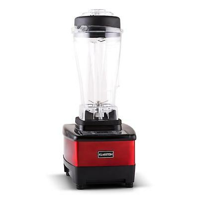 Powerful Electric Blender 1500W Fruit Juice Maker Food Mixer Led Display - Red