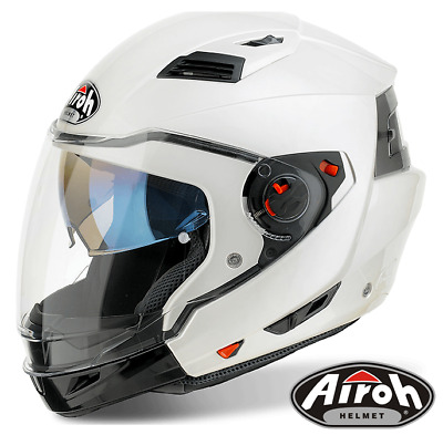 Airoh Executive R Modular Motorcycle Crash Helmet Drop Down Sunvisor Dvs P/ J