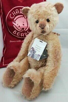 SPECIAL OFFER! Charlie Bears Isabelle Mohair TIMEPIECE (Number 17/400) RRP £210