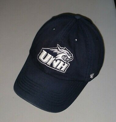 promo code 6206d 87362 UNH University Of New Hampshire Fitted Large Hat Baseball Cap 47 Brand  Recycled