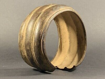 Very Rare - Large Beautiful Ancient Celtic Bronze Bracelet Circa 1300-900 Bce