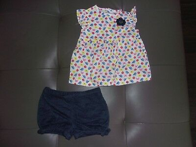 0149e4dd4 NEW CARTERS INFANT Baby GIRL Size 12 Months 9 PIECE MIX AND MATCH ...