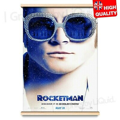 Rocketman Poster 2019 Elton John Movie Art Film Taron Egerton | A4 A3 A2 A1 |