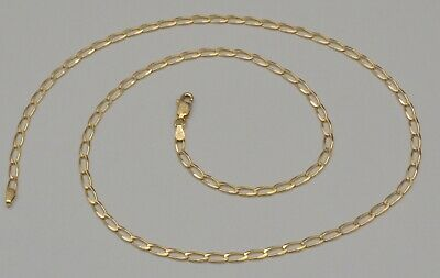 788a9b53a0f7e 14K YELLOW GOLD Round Diamond Cut Franco Chain Necklace 18