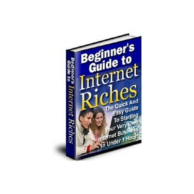 Beginners To Internet Riches pdf ebook Free Shipping With master Resell Rights