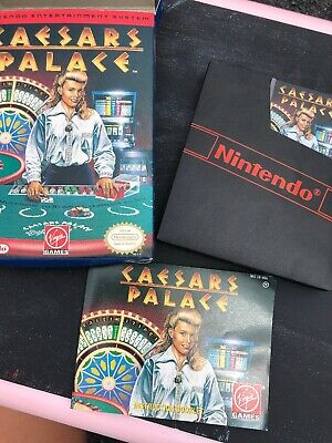CAESAR'S PALACE - Nintendo Entertainment System NES - w/ Box & Manual