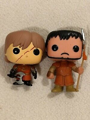 Funko Pop OBERYN MARTELL + Tyrion Lannister Scar GOT Game of Thrones OOB VAULTED