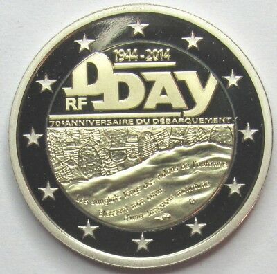 Francia - Be - 2 Euro - 2014 - D-Day -