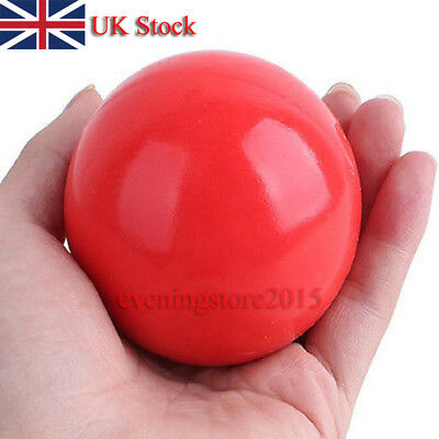 Indestructible Solid Rubber Ball Pet cat Dog Training Chews Play Fetch Bite UL