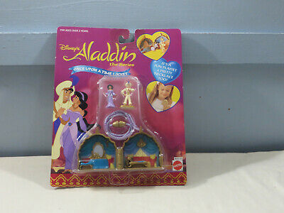 Mattel Disney Once Upon a Time Locket Aladdin the Series MOC Polly Pocket