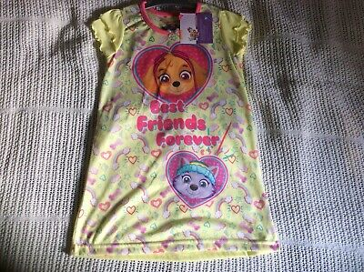 eb8e4e78f1 Girls Paw Patrol Nightie - Skye and Everest Nightdress Ages 2 to 3 Years