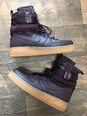 huge discount e21ea 29703 NEW Nike SF Air Force 1 High  Deep Burgundy  Men s Size 8.5! Must
