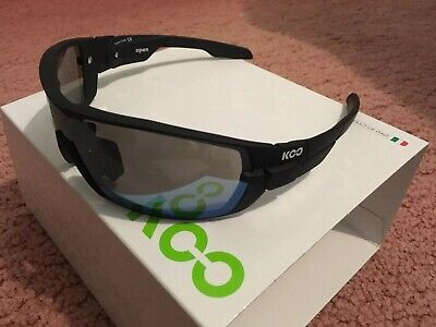 KASK KOO OPEN Sunglasses Lens: Smoke Mirror + Clear Black