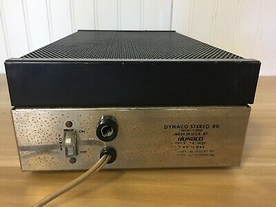 Dynaco Stereo 80 Amplifier USED **FREE SHIPPING!!**
