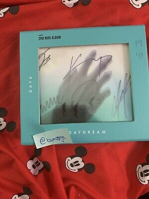 Day6 All Member Signed Daydream Album From Mwave.