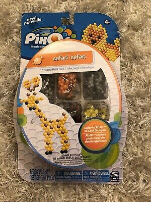 Pixos Safari Themed Refill Pack NEW