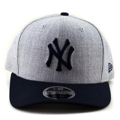 New York Yankees New Era MLB NY 9Fifty Slightly Curve Baseball Snapback Hat 1