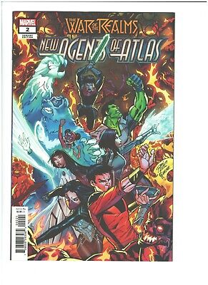 New Agents of Atlas #2 War of the Realms 1:25 Lim Variant