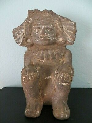 Pre-Colombian: Zapotic: circa 600 AD, central Mexico, Shaman