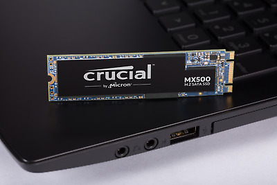 Crucial MX500 M.2 Type 2280 500GB SSD Solid State Drive 560MB/s CT500MX500SSD4