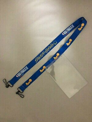 Golden State Warriors Finals Strength In Numbers 2019 Lanyard Limited EditionSGA
