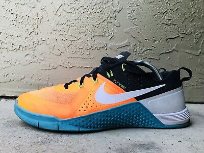 purchase cheap f6c08 19717 Nike Metcon 1 Og Crossfit Total Orange Blue Lagoon (704688